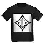 JG Diamond Black Kids Dark T-Shirt