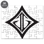 JG Diamond Black Puzzle