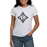 JG Diamond Black Women's T-Shirt