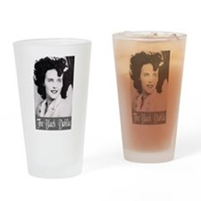 The Black Dahlia Drinking Glass