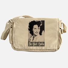 The Black Dahlia Messenger Bag