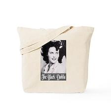 The Black Dahlia Tote Bag