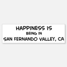 San Fernando Valley - Happine Bumper Bumper Bumper Sticker
