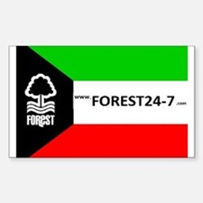 Kuwait Forest Decal