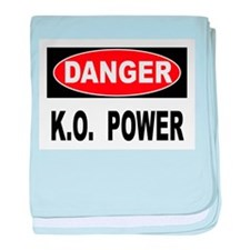 K.O. Power baby blanket