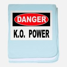 K.O. Power baby blanket