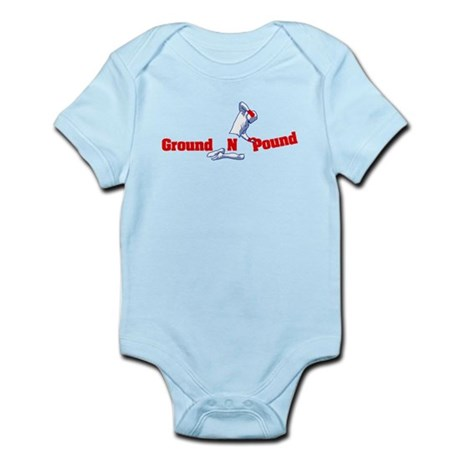 Ground n Pound Infant Bodysuit