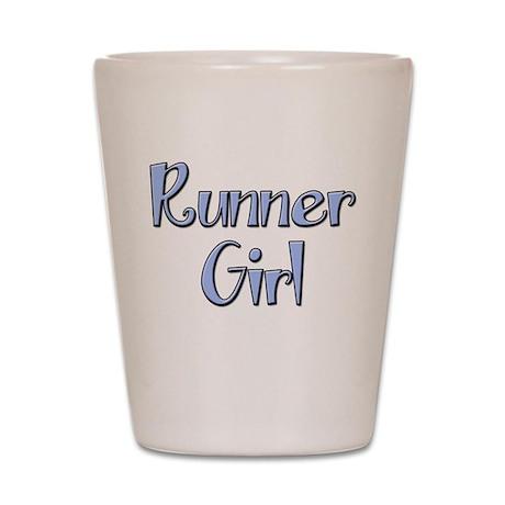 Runner Girl Shot Glass