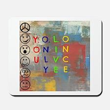 Y.O.L.O Mousepad