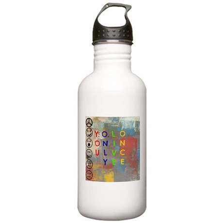 Y.O.L.O Stainless Water Bottle 1.0L
