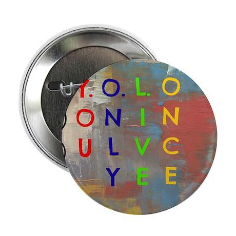 """Y.O.L.O 2.25"""" Button"""