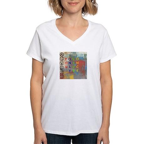 Y.O.L.O Women's V-Neck T-Shirt