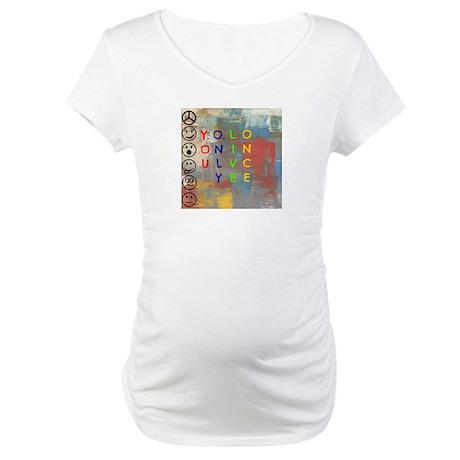 Y.O.L.O Maternity T-Shirt