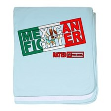 Mexican Fighter baby blanket