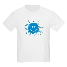 Smiley splash color T-Shirt