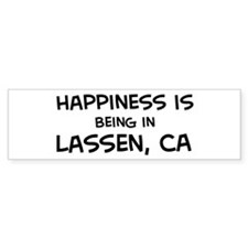 Lassen - Happiness Bumper Bumper Sticker