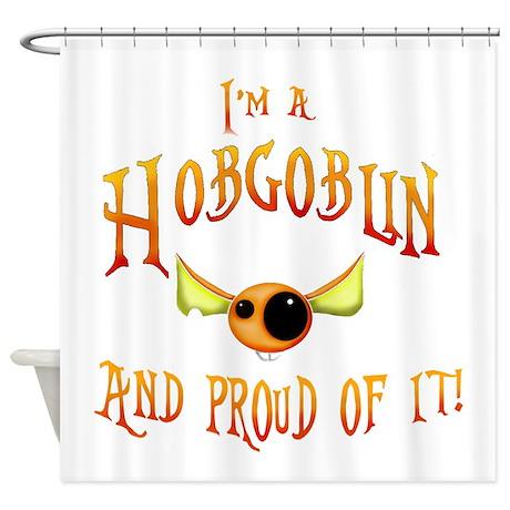 Hobgoblin Society Member Shower Curtain