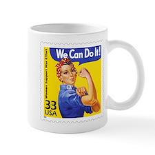 Rosie the Riveter Stamp Mug