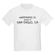 San Diego - Happiness Kids T-Shirt