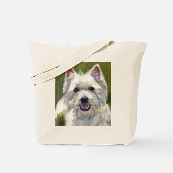 Happy Westie Tote Bag
