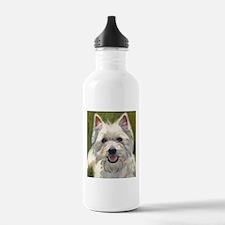 Happy Westie Water Bottle