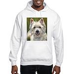 Happy Westie Hooded Sweatshirt