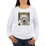 Happy Westie Women's Long Sleeve T-Shirt