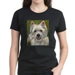 Happy Westie Women's Dark T-Shirt