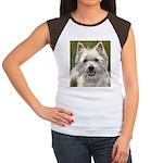 Happy Westie Women's Cap Sleeve T-Shirt