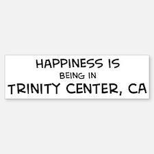 Trinity Center - Happiness Bumper Bumper Bumper Sticker