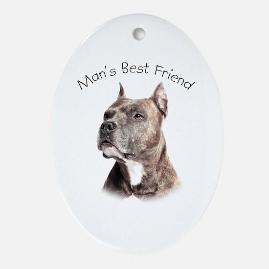 Man's Best Friend Ornament (Oval)