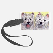 Two Westies Luggage Tag