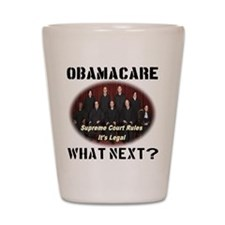 Obamacare What Next? Shot Glass