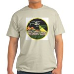 Immigration Air Operations Ash Grey T-Shirt