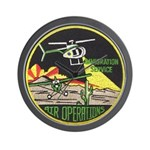 Immigration Air Operations Wall Clock