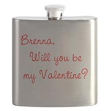 Funny Brenna Flask