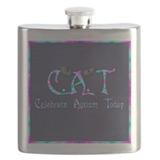 Celebrate Autism Today Flask