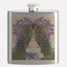 Flask Featuring Norse Earth Goddess Jord!