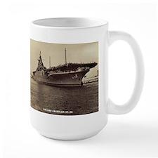 USS Lake Champlain cv calendar Mug