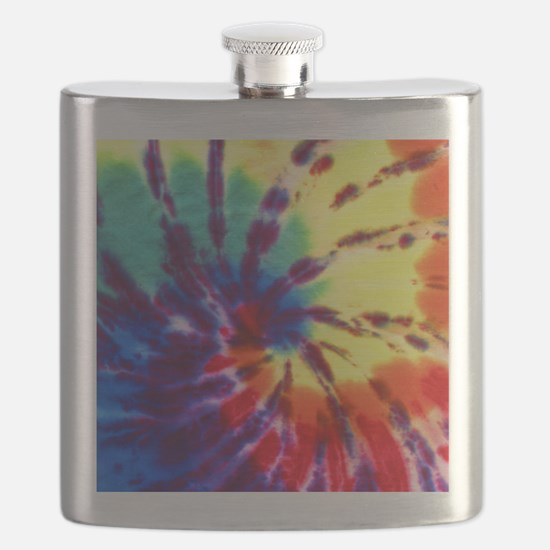Tie-Dyed Flask