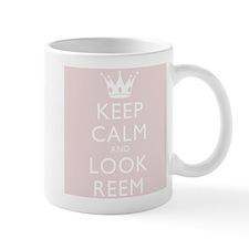 Keep Calm And Look Reem Mug