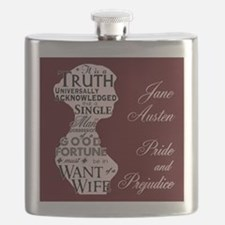"""""""Truth Universal"""" Quote Flask"""