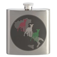 Very Italian Greyhound Flask