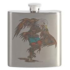 Eagle Dancer Flask