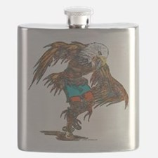 Eagle Dancer Flask