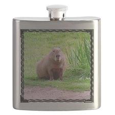 Capybara Looking Forward Flask