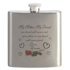 My Mother, My Friend Flask