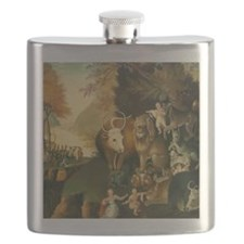 Peaceable Kingdom Flask