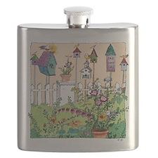Cynthia Bainton Bird House Garden Flask