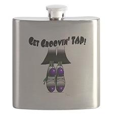 Get groovin' TAP! purple Flask